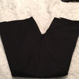 Zara Black Flare Leg Pants